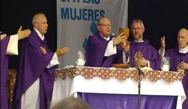 Ojea contra el aborto en la misa de Luján: 'No es lícito eliminar ninguna vida humana'