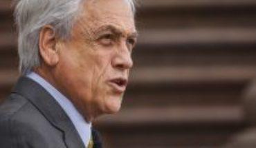 """Piñera parte marzo en clave octubre: """"Si es necesario volver a decretar un estado de emergencia, lo vamos a hacer"""""""