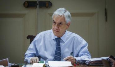 Presidente Piñera se refiere a la primera muerte por covid-19 en Chile