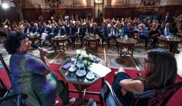 Primera jornada de capacitación de género por la Ley Micaela en el Senado