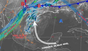 Pronóstico del clima de hoy: Lluvia y granizo se espera en México