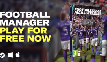 #QuedateEnCasa: Football Manager 2020 extiende su promo gratuita por una semana