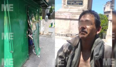 Reportan robo de productos en puesto de revistas en el centro de Morelia; hay un detenido