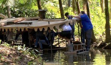 Se hundió una embarcación de un juego de Disney con pasajeros a bordo
