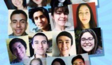 Trece escolares chilenos destacados viajarán a EE.UU. como parte del programa Embajadores Jóvenes
