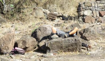 Un sujeto fue asesinado a balazos en la colonia Trasierra de Jacona