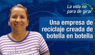 Botella a botella y centavo a centavo, María Smith le dio un giro a su vida como recicladora