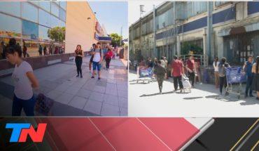 Coronavirus | La Argentina en cuarentena: día 1. Hay largas colas para entrar a los supermercados