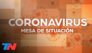 Coronavirus en la Argentina: la Mesa de Situación de TN con el seguimiento minuto a minuto