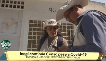 INEGI sigue realizando censo | La Bola del 6