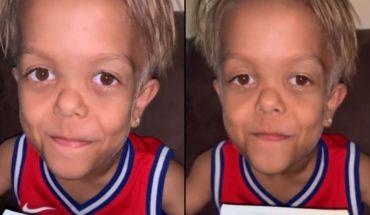 Video: Quaden Bayles, el nene con enanismo, mostró su fecha de nacimiento