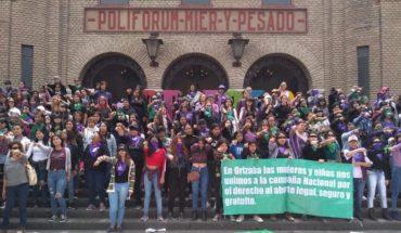 marchan en Veracruz contra violencia de género