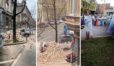 5.3 magnitude earthquake record in Croatia (Video)