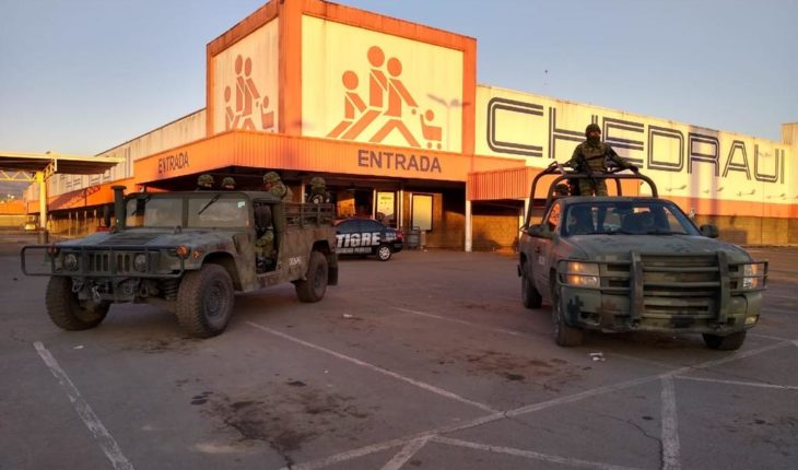 61 arrested in CDMX and Edomex for looting supermarkets