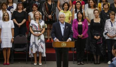 8M: President announces projects against gender-based violence and food pension payment