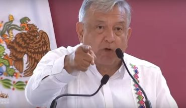 AMLO is looking out for speech in Tabasco for shouting against mayor