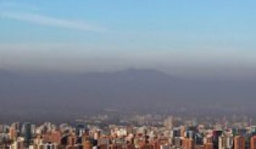 At least good news: improved air conditions in Santiago after quarantine in 7 communes