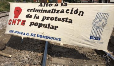 Blockades return to train tracks in Pátzcuaro and Caltzontzin, Michoacán