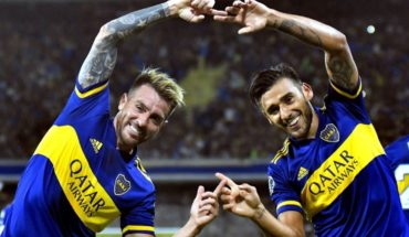 Boca beat Independiente Medellin in the Copa Libertadores and is still partying