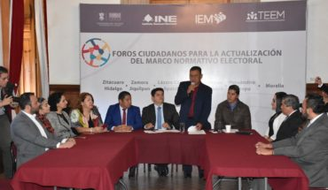Citizen forums start to update Michoacán Electoral Code, in Uruapan