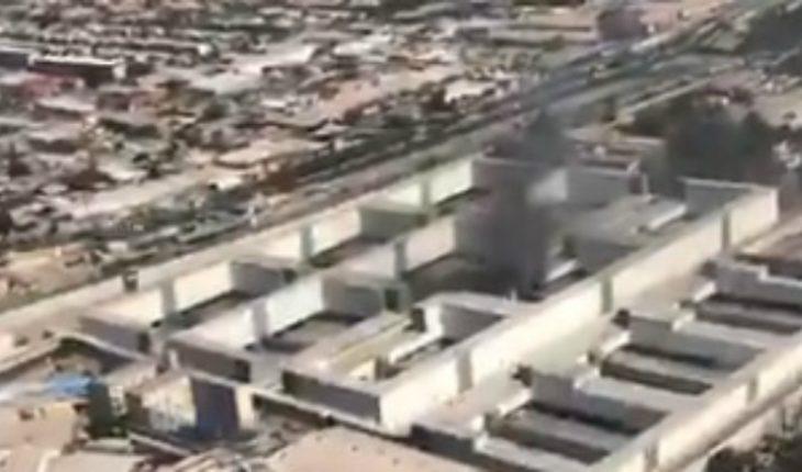 Gendarmerie confirmed attempted escape in Jail Santiago 1