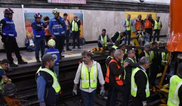 Line 1 will operate normally again on Tuesday, after crash in Tacubaya