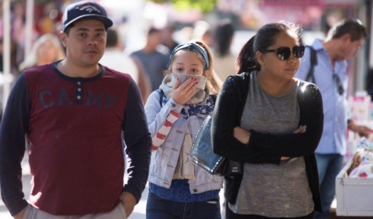 Low temperature forecast for Sinaloa municipalities