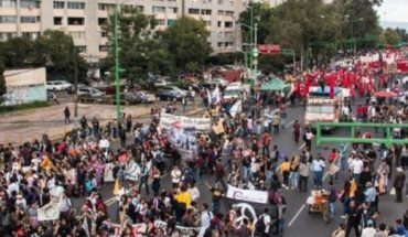 Marches for this Thursday, March 5 in CDMX