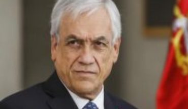 """Piñera on Trump's frequency said the cost of Space Riesco for a month """"is less than what a parliamentarian costs"""" in 30 days"""