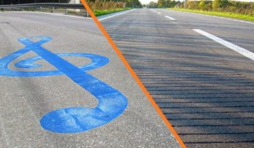 Roads issue musical notes as vehicle tires pass over them (Video)