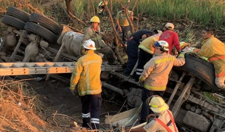 Severe peripheral accident leaves serious injury