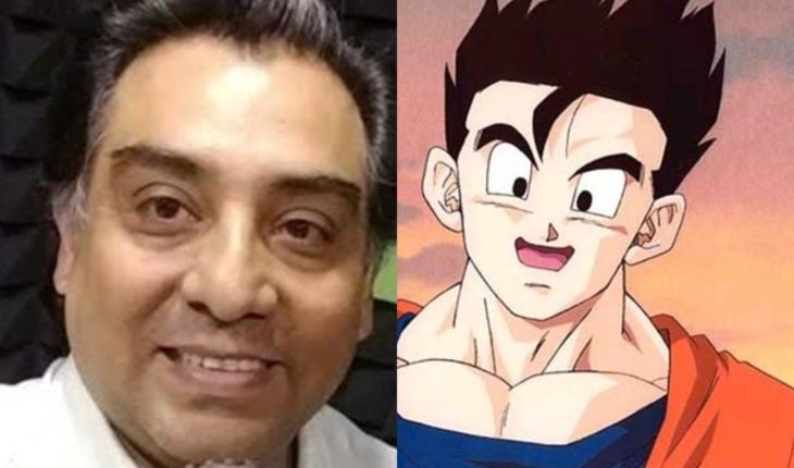 Shock over the death of voice actor Luis Alfonso Mendoza, voice of Gohan