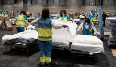 Spain: 832 people died in one day and hits new daily record