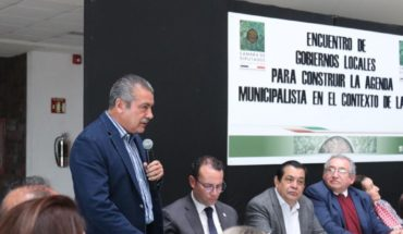 Strengthening municipal governments in the Constitution is urgent: Raúl Morón