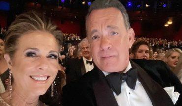 That's what Tom Hanks and Rita Wilson look like: with coronavirus and isolated