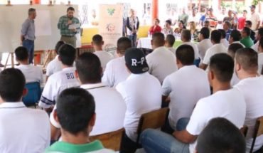 They give motivational talk to inmates of the Aguaruto prison