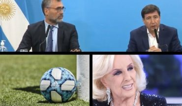 They increase retirements and social assignments, requested by Justice by Fernando, suspend Argentine football, Mirtha will not do his program for coronavirus, Federico D'Elía told anecdotes of Los Simuladores, and more...