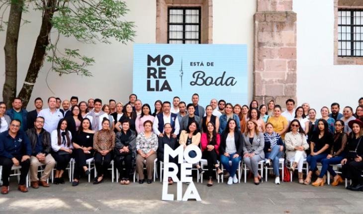 They seek to make Morelia a wedding destination
