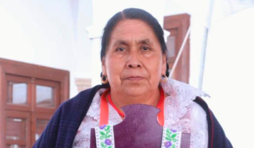 Traditional cook Juanita Bravo, receives Uarhíti Janguarhiti 2020