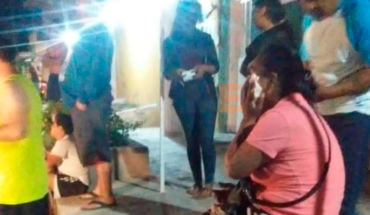 Woman is attacked by her ex-partner, he even tried to run her over in Apatzingán, Michoacán
