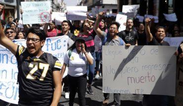 universitarios en Puebla ante inseguridad