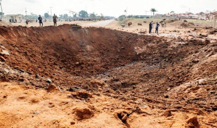 ¿Cayó un meteorito en Nigeria y dejó un inmenso cráter?