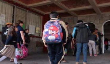 ¿Cuándo regresan a clases en México?