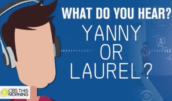 ¿Yanny o Laurel? la historia del desafío viral que resurgió en redes sociales