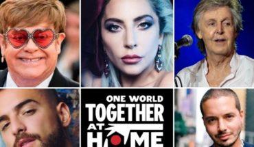 """""""One World, Together at Home"""": cómo fue el gran festival contra el coronavirus"""