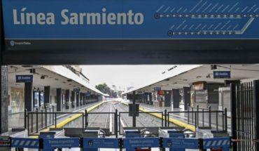 Activaron el protocolo de coronavirus en el tren Sarmiento