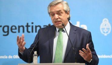 """Alberto Fernández: """"no bajemos los brazos porque estamos haciendo lo que corresponde"""""""