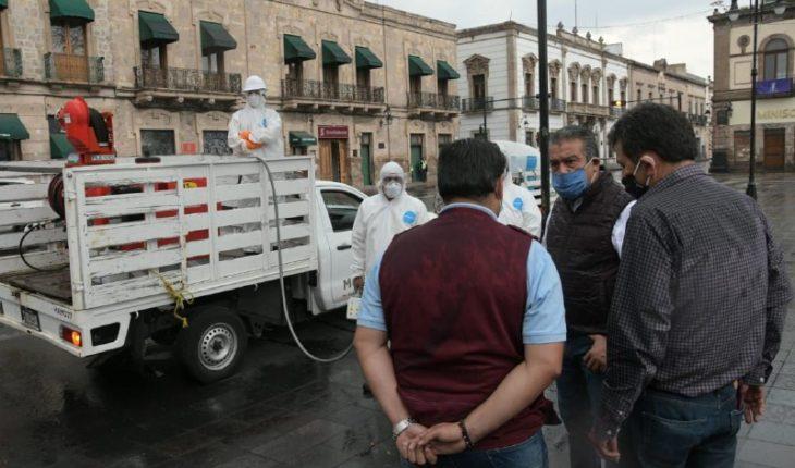 Ayuntamiento de Morelia informa que Sanitizará principales vialidades y colonias del municipio