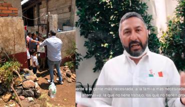 Ayuntamiento de Pátzcuaro despliega jornada de apoyo alimentario para familias en aislamiento por COVID-19
