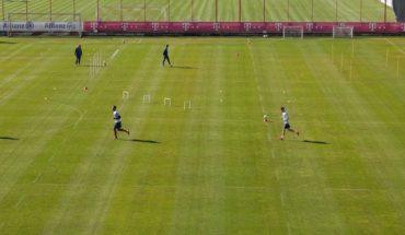 Bayern volvió a los entrenamientos con medidas especiales por el coronavirus